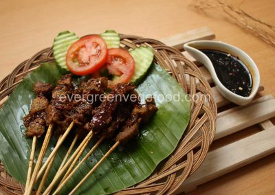 Vege Chicken Satay 素沙爹燒串