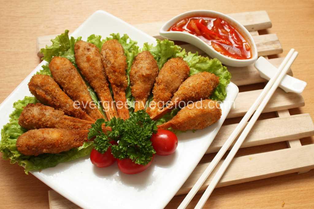 Vege Chicken Stick 素炸雞腿
