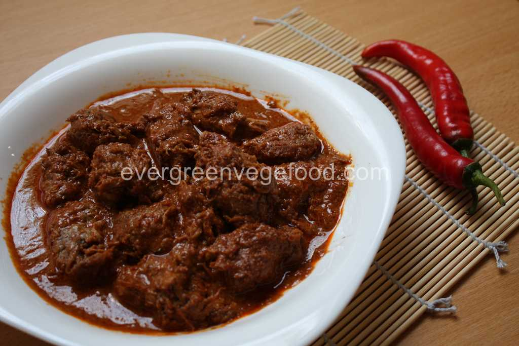 Rendang Mutton Vege 能嚷素羊肉
