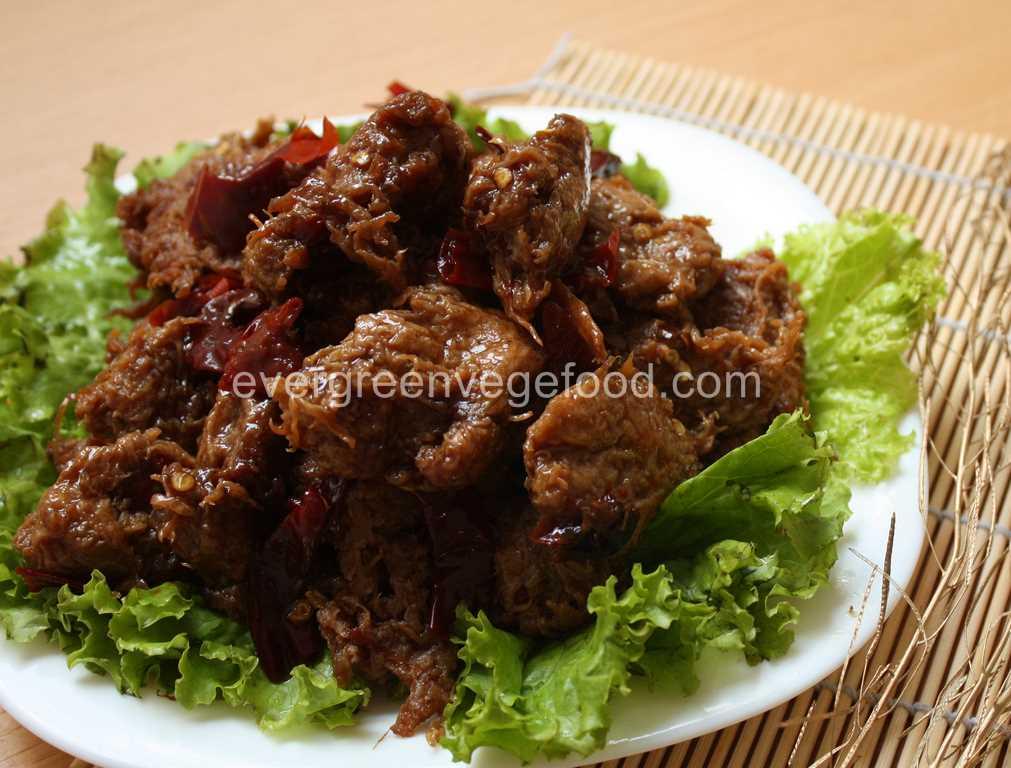 San Bei Chicken Vege 素三杯雞