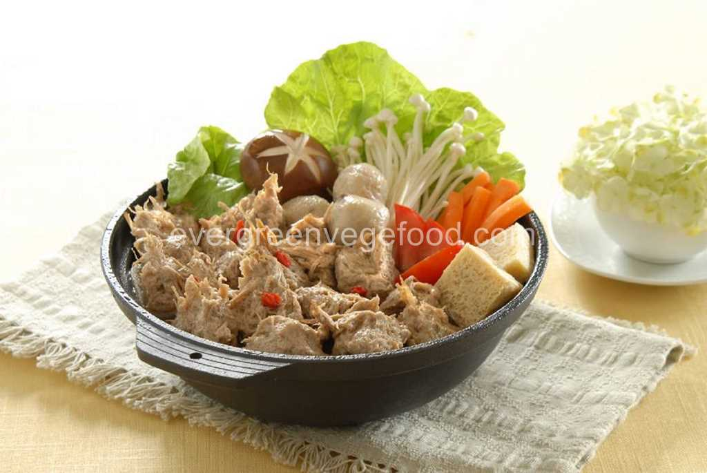 Vege Stewed Mutton Analog  (素羊肉)