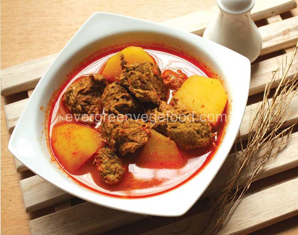 Curry Mutton Vege 素羊肉咖哩