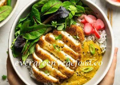 Fish KATSU Vegetarian (素魚排)