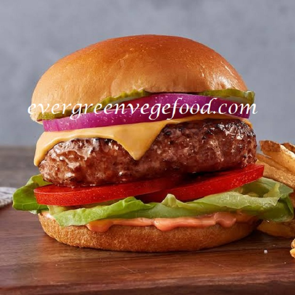 Steak Burger Vegetarian (素漢堡排)